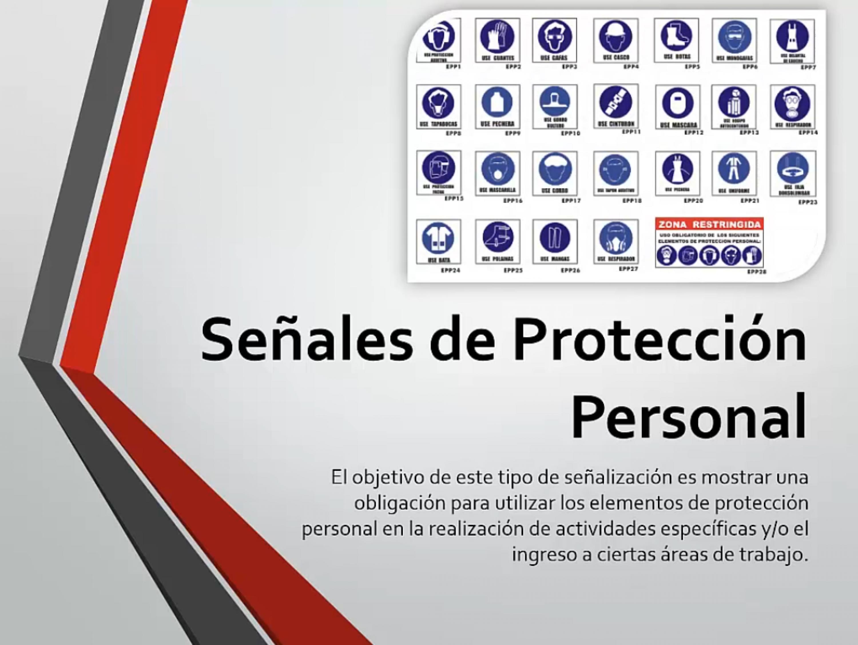 Señales de Protección Personal