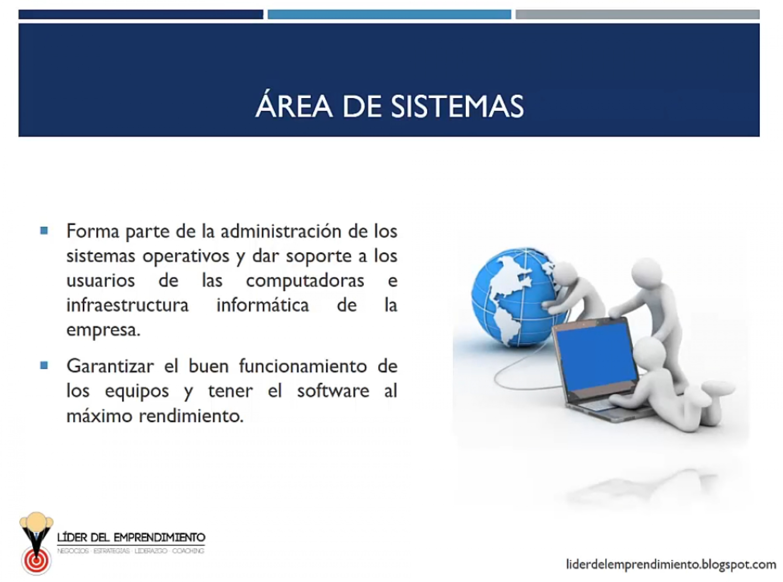 Área de sistemas
