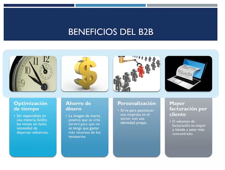 Beneficios del B2B