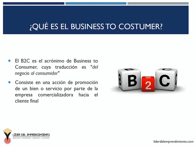Business to Costumer (B2C)