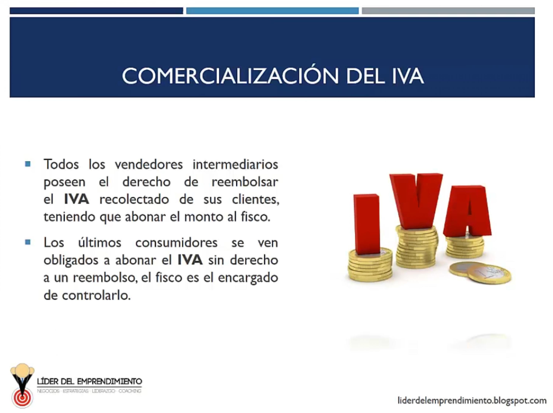 Comercialización del IVA