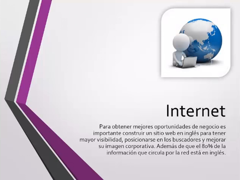 El 80% de los sitios en Internet está en inglés