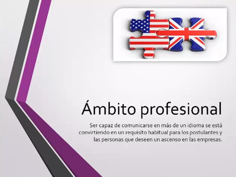 El inglés es una necesidad en el ámbito profesional