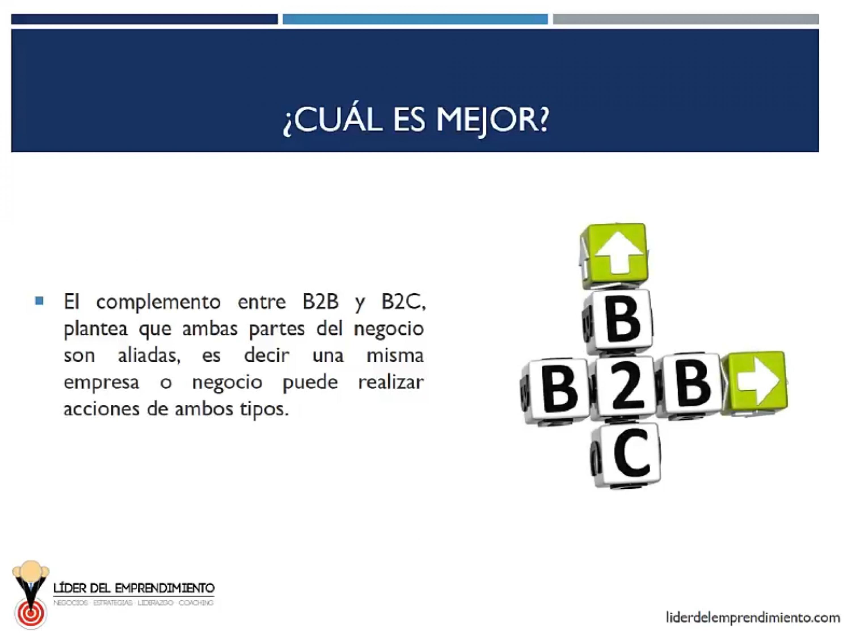 Es mejor el B2B o B2C