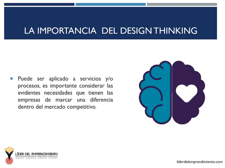 La importancia del Design Thinking