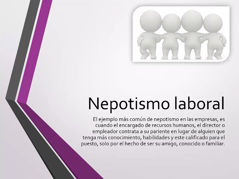 Nepotismo laboral