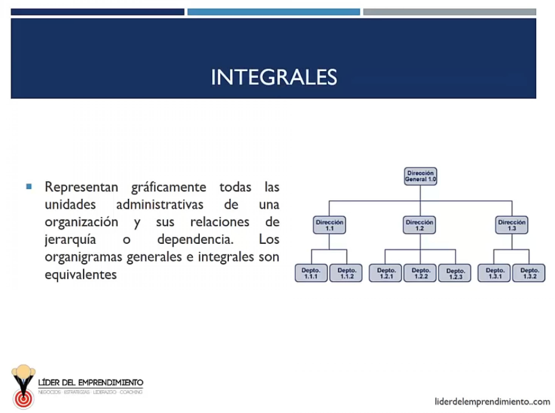 Organigramas integrales