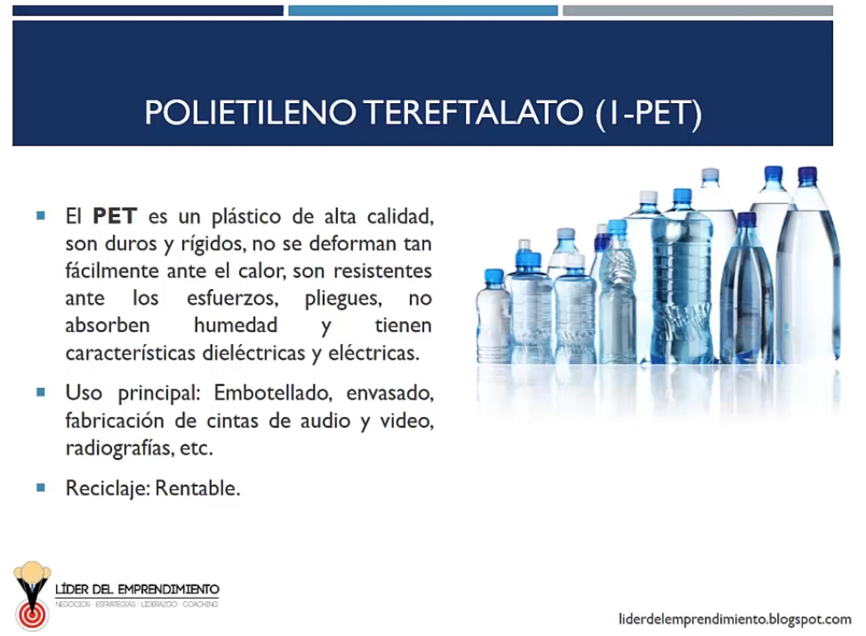 Polietileno Tereftalato (PET)