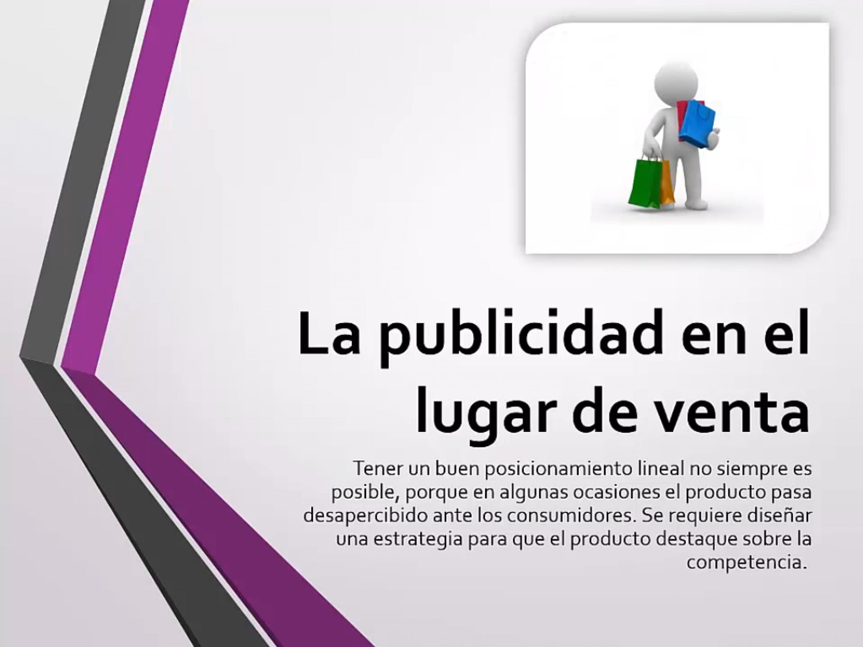 Publicidad en el lugar de venta (PLV)