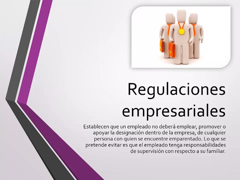 Regulaciones empresariales para evitar el nepotismo laboral