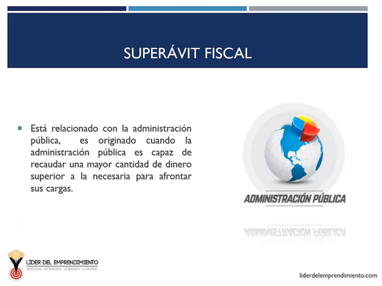 Superávit fiscal