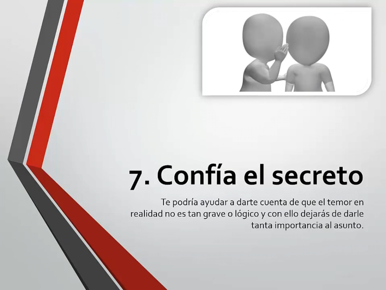 Confía el secreto