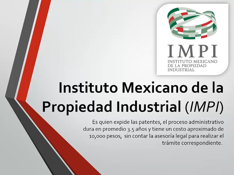 Quién expide las patentes en México