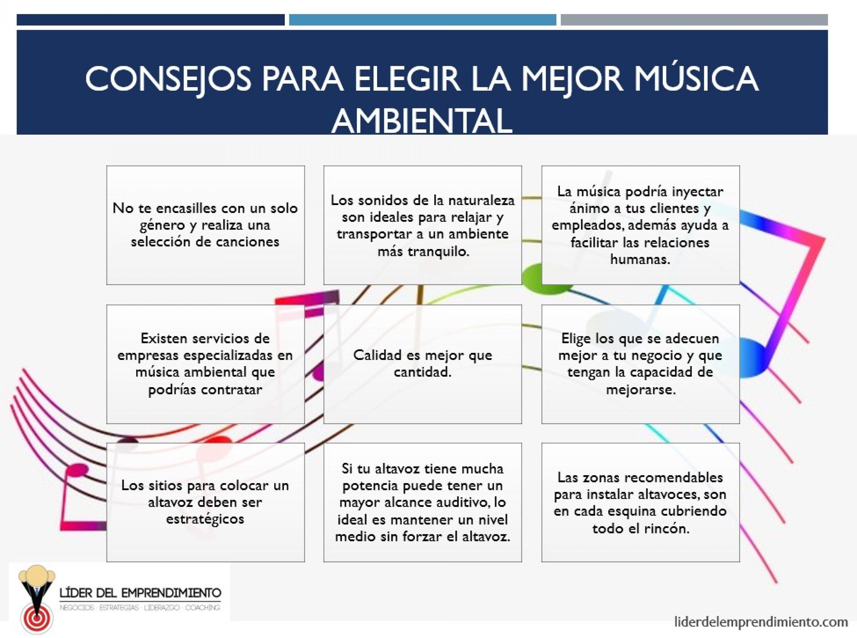 Consejos para elegir la mejor música ambiental