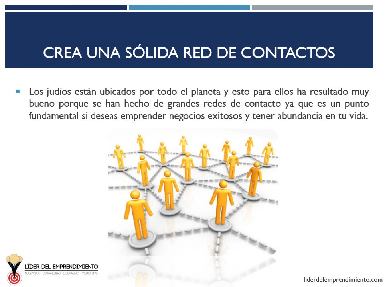 Crea una red de contactos