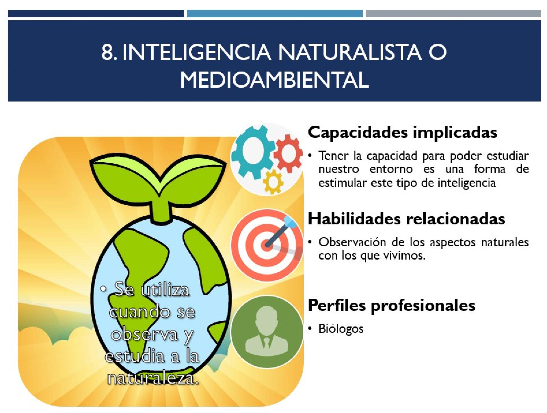 Inteligencia naturalista o medioambiental