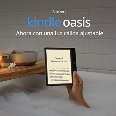 Características Kindle Oasis