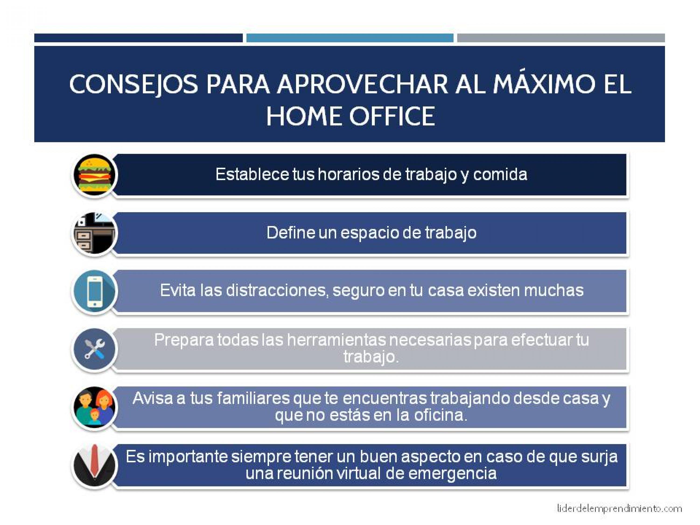 Consejos para aprovechar al máximo el Home Office