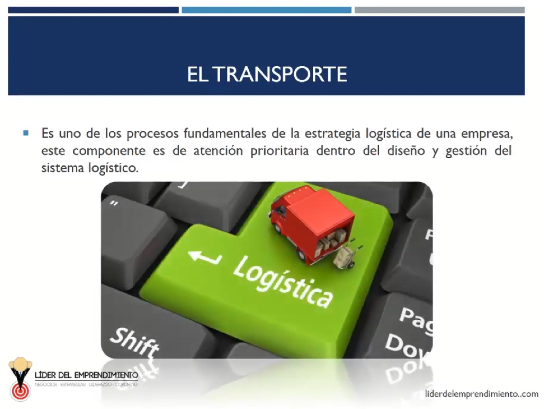 El transporte en las empresas