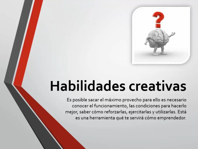 Habilidades creativas
