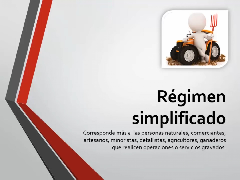Régimen simplificado