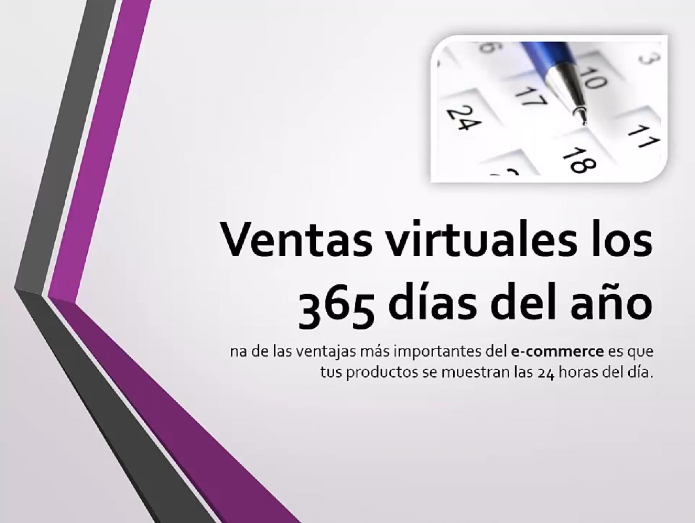 Ventas virtuales todos los días del año