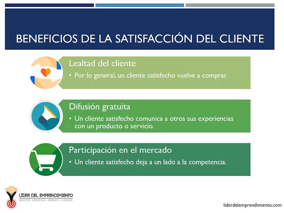 Beneficios de la satisfacción del cliente