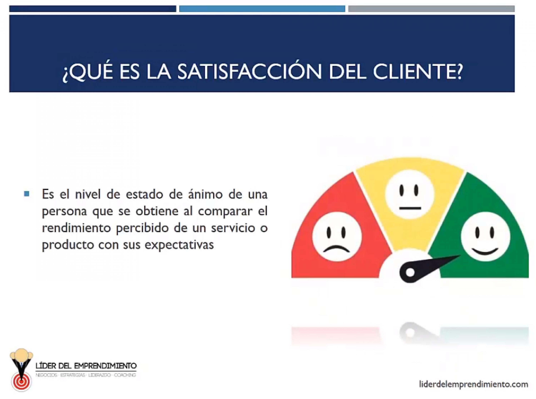 ¿Qué es la satisfacción del cliente?