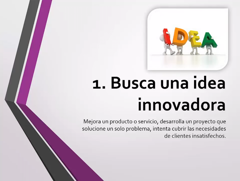 Busca una idea innovadora