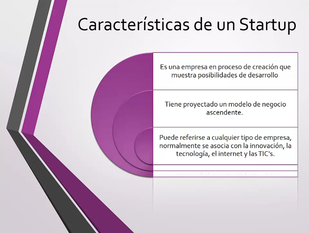 Características de una Startup