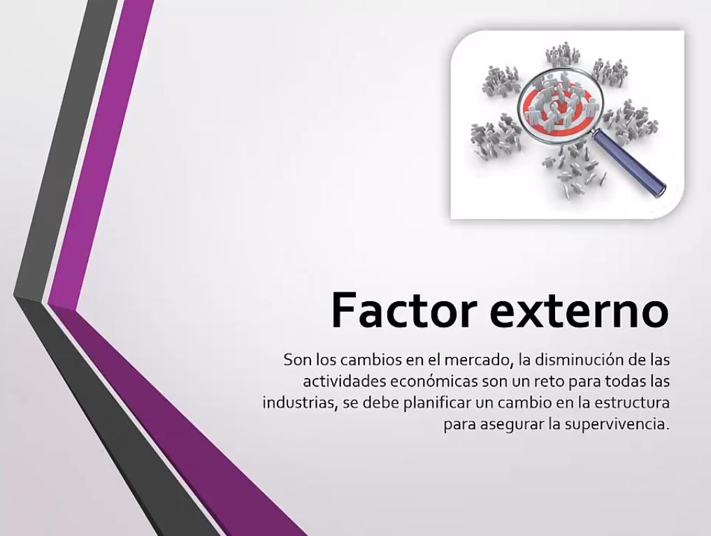 Factor externo
