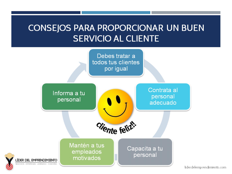 Consejos para proporcionar un buen servicio al cliente