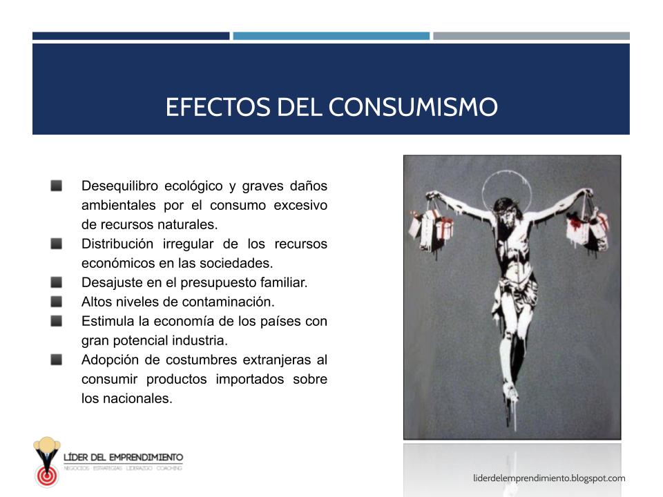 Efectos del consumismo