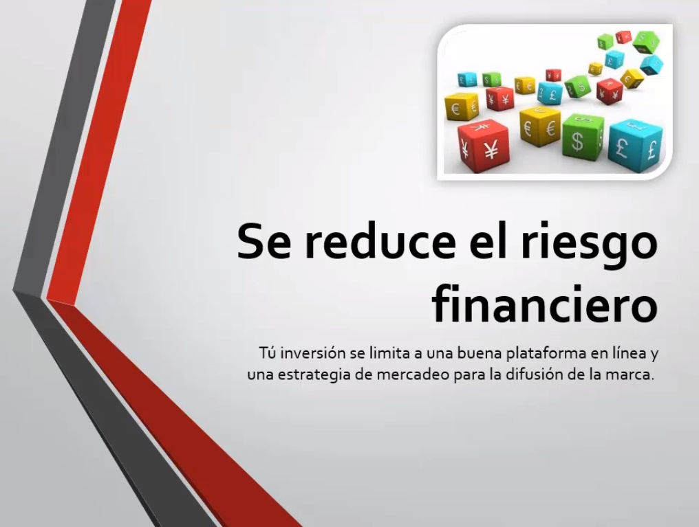 Se reduce el riesgo financiero