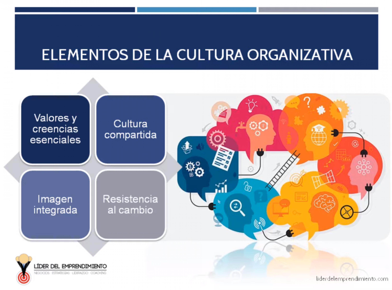 Elementos de la cultura organizativa