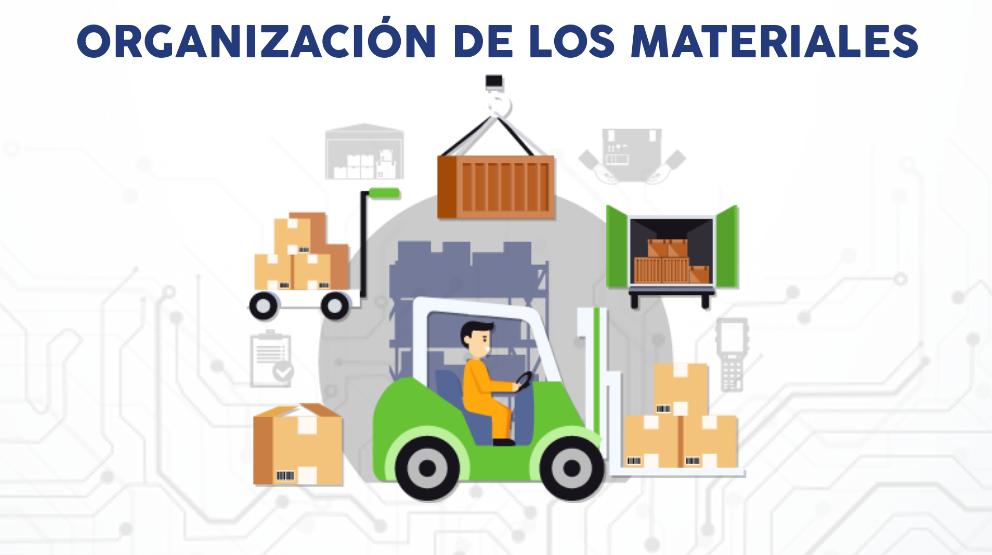 Organización de los materiales
